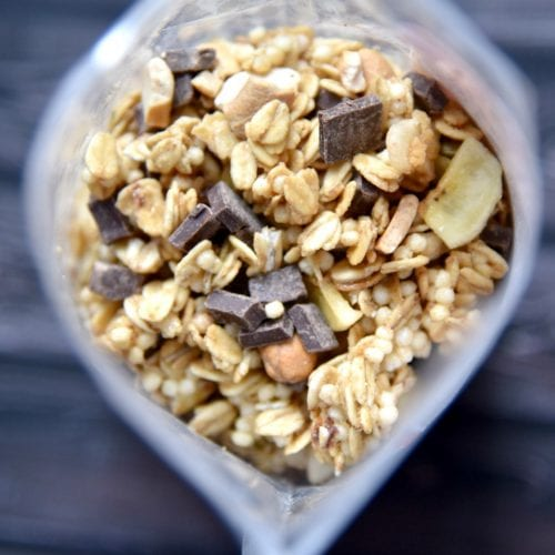 custom granola