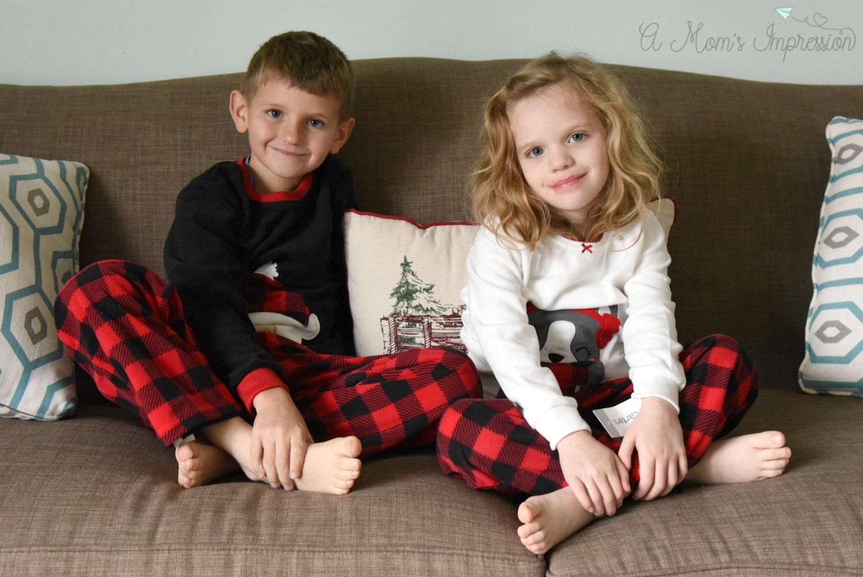 matching kids christmas pajamas