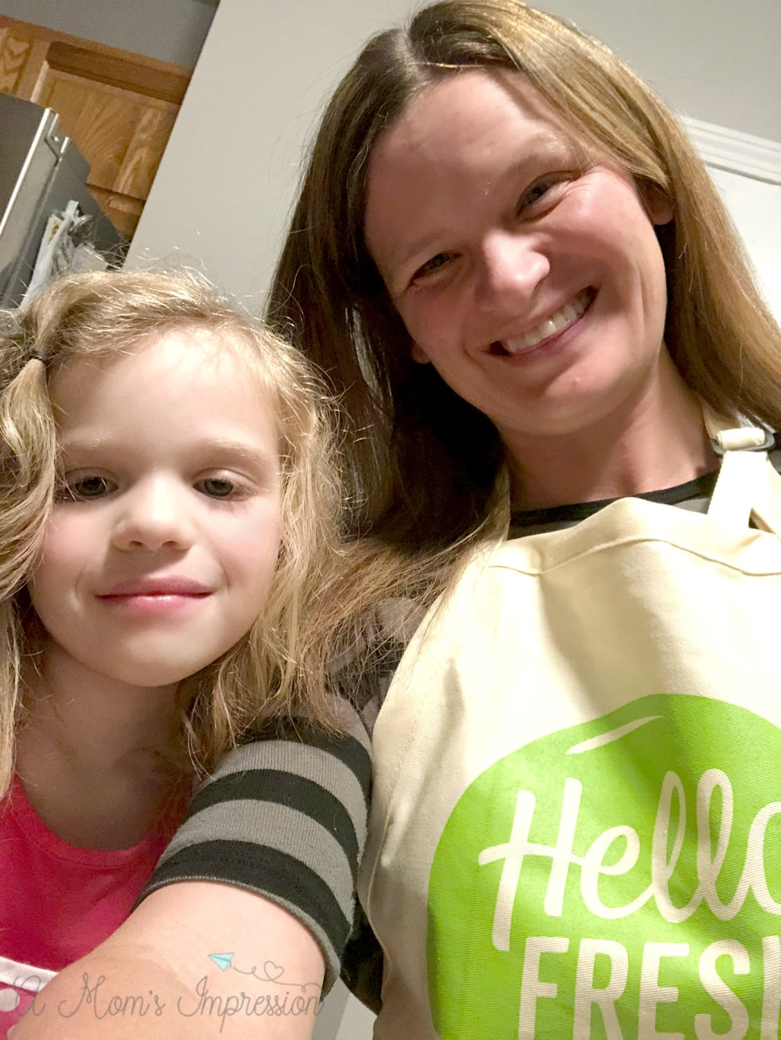 Cooking with Kids hello fresh