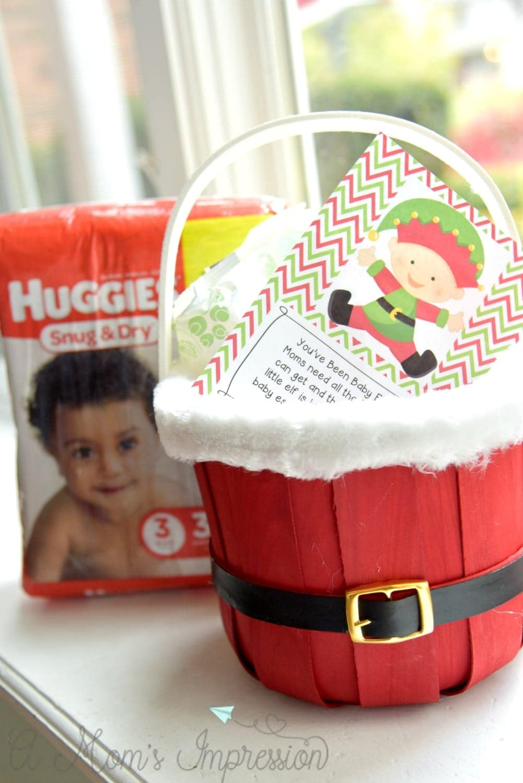 Huggies Elfed basket
