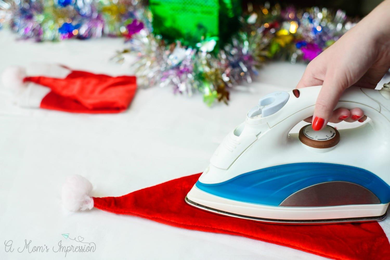Ironing Santa Hat