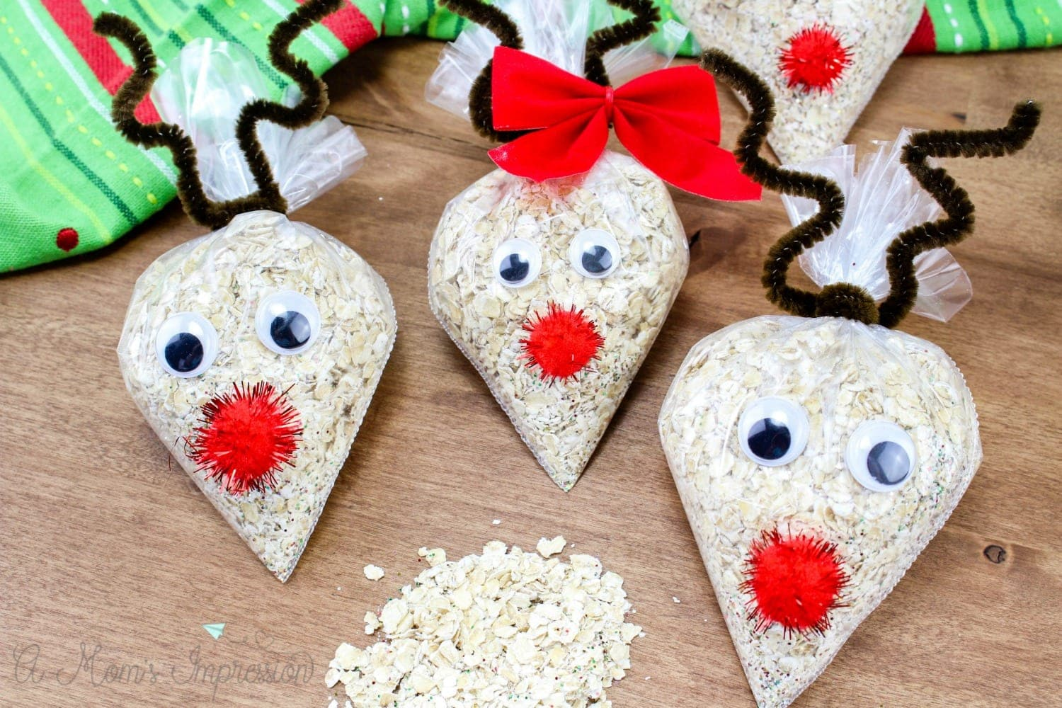 Oatmeal Reindeer Food