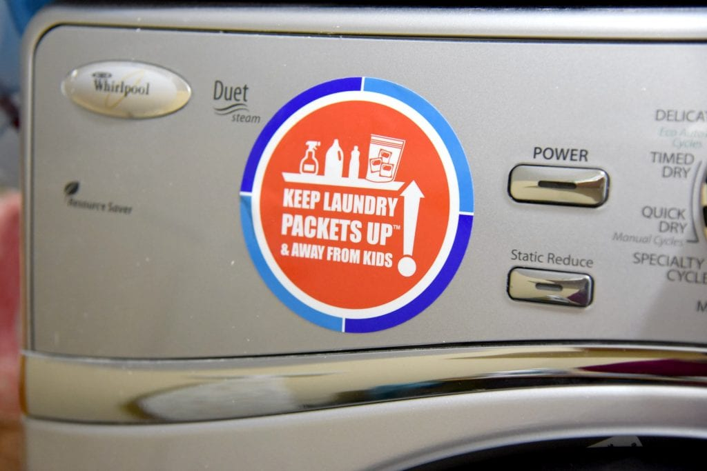 Packets Up decal