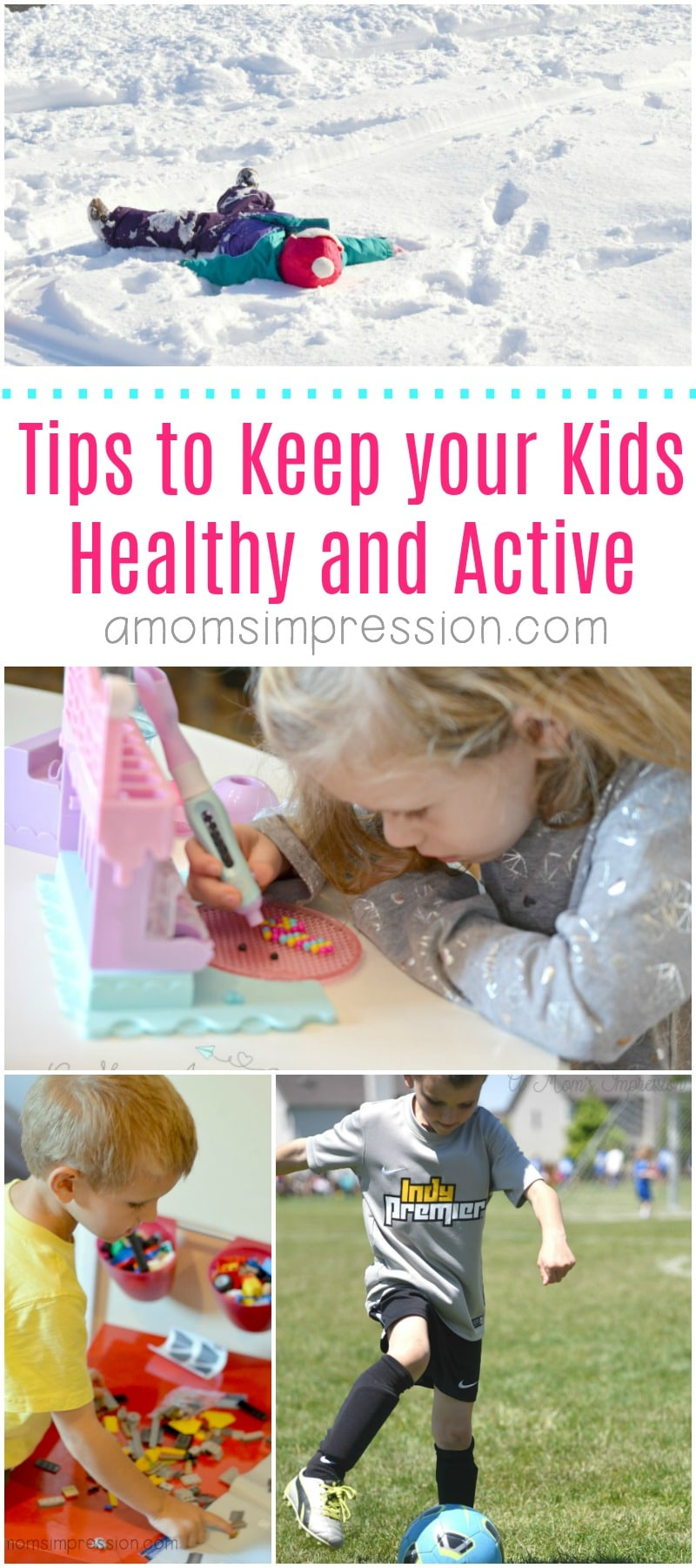 Tips to keep you kids healthy and active