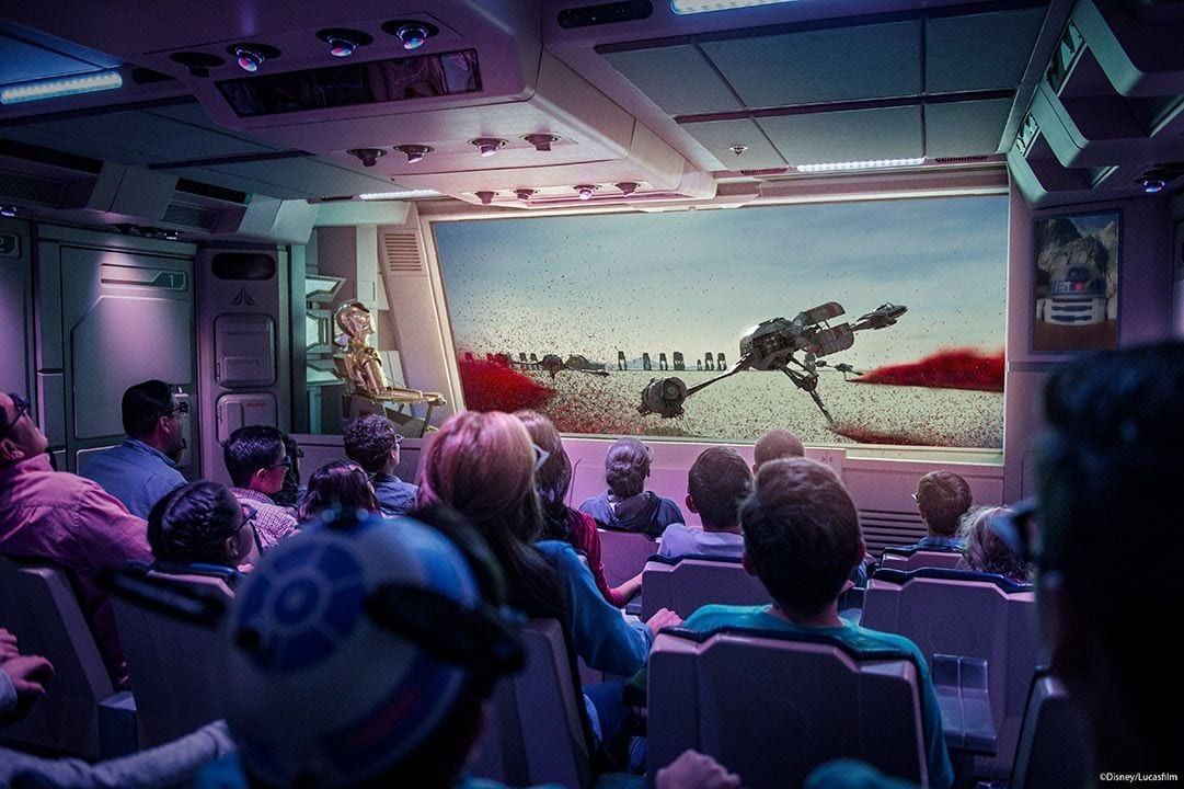 Star Tours The Last Jedi