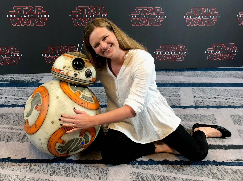 A BB-8 Hug