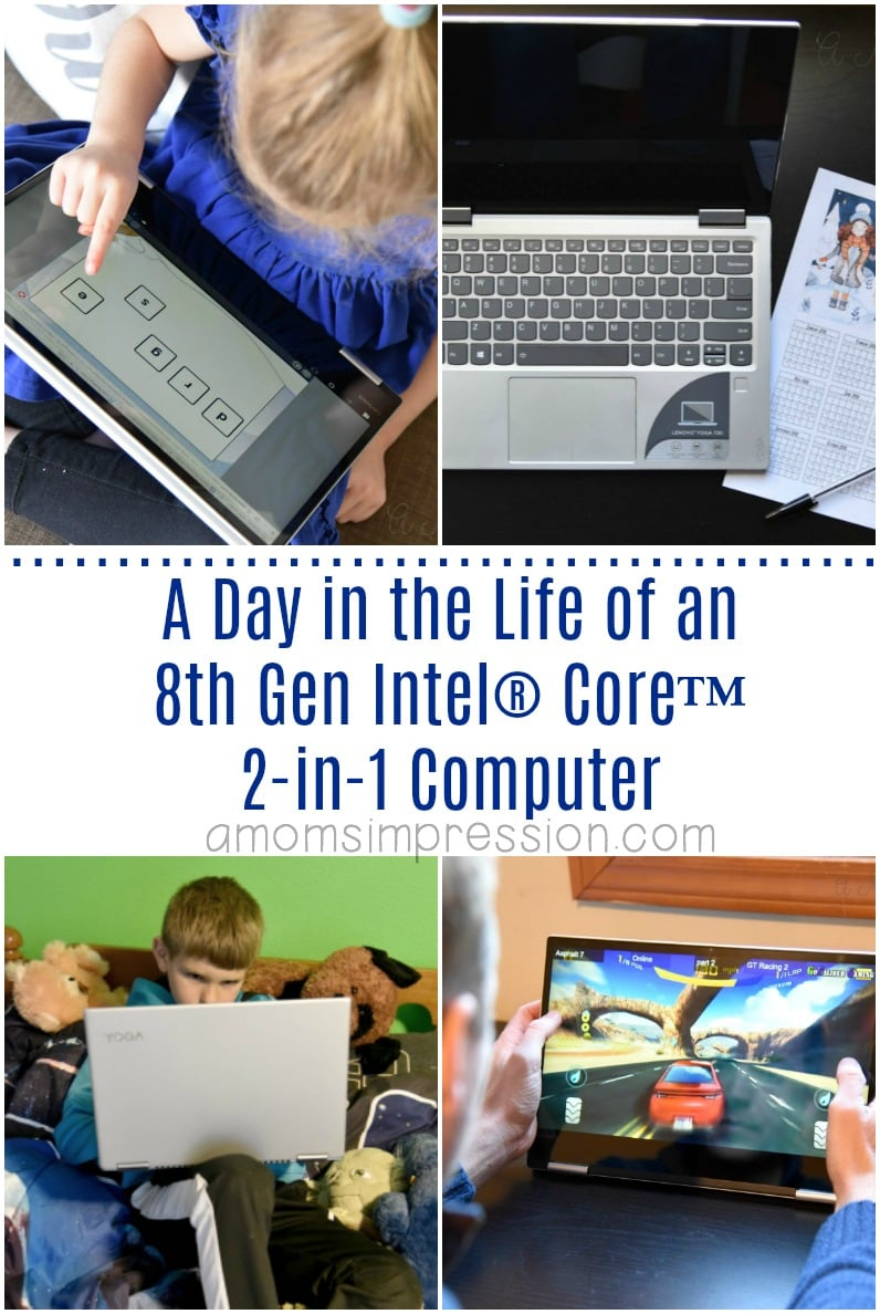 A Day in the Life of an 8th Gen Intel® Core™ 2-in-1 Computer