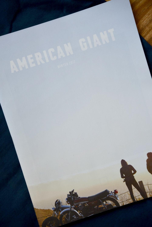 American Giant Catelog