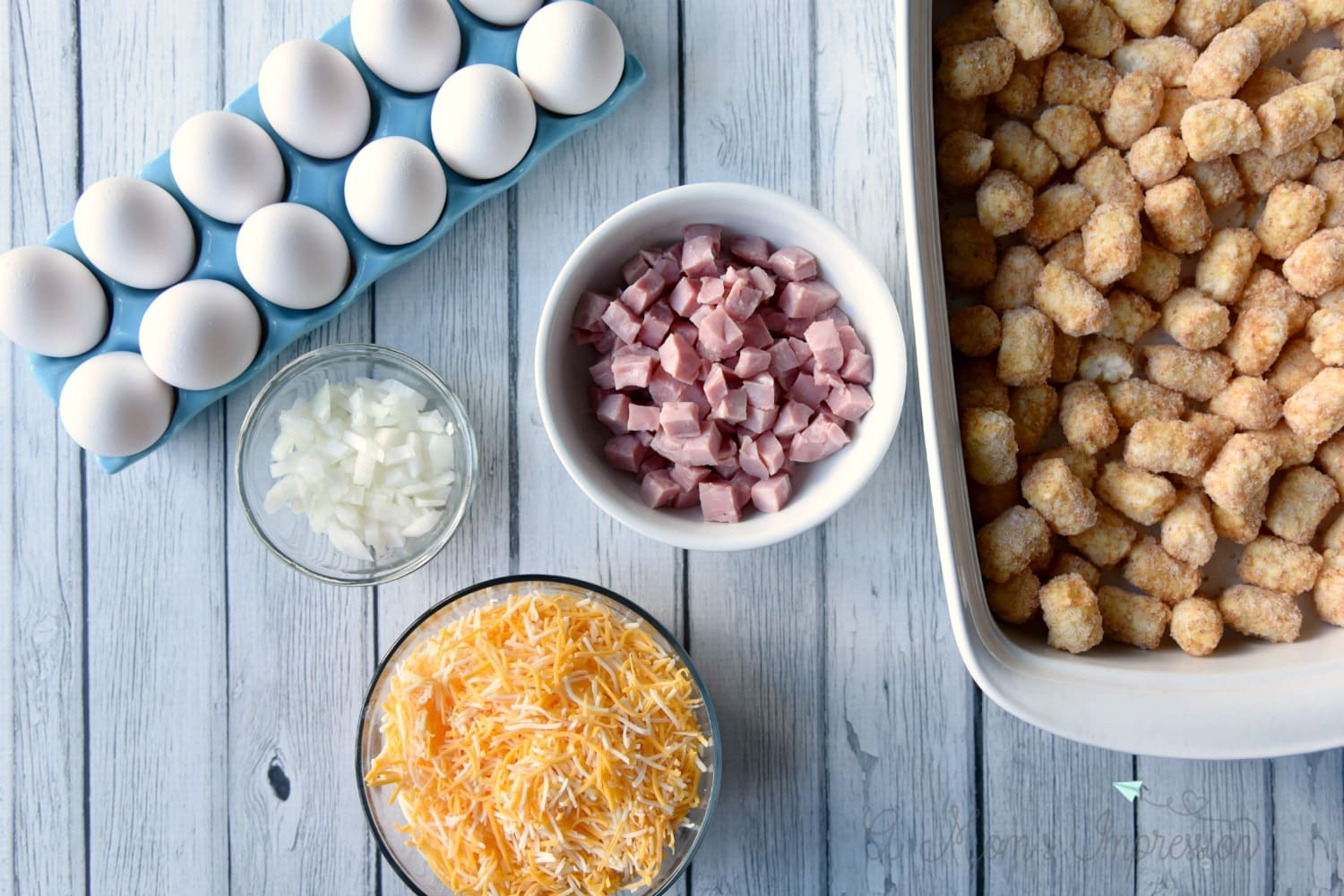 Breakfast Casserole Ingredients