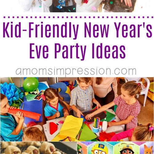 Kid Friendly New Years Eve Party Ideas