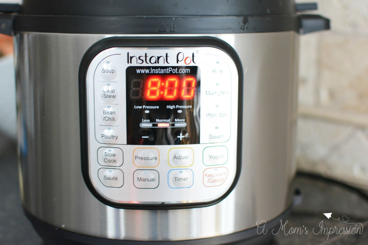 Pressure cooker yogurt recipe