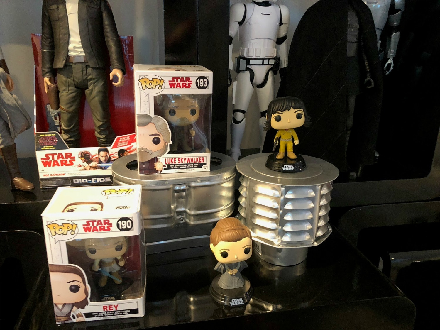 Star Wars The Last Jedi Pop Figures