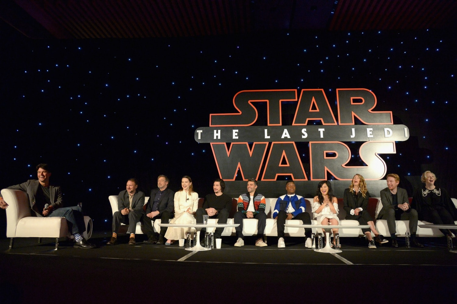 Star Wars Press Event cast