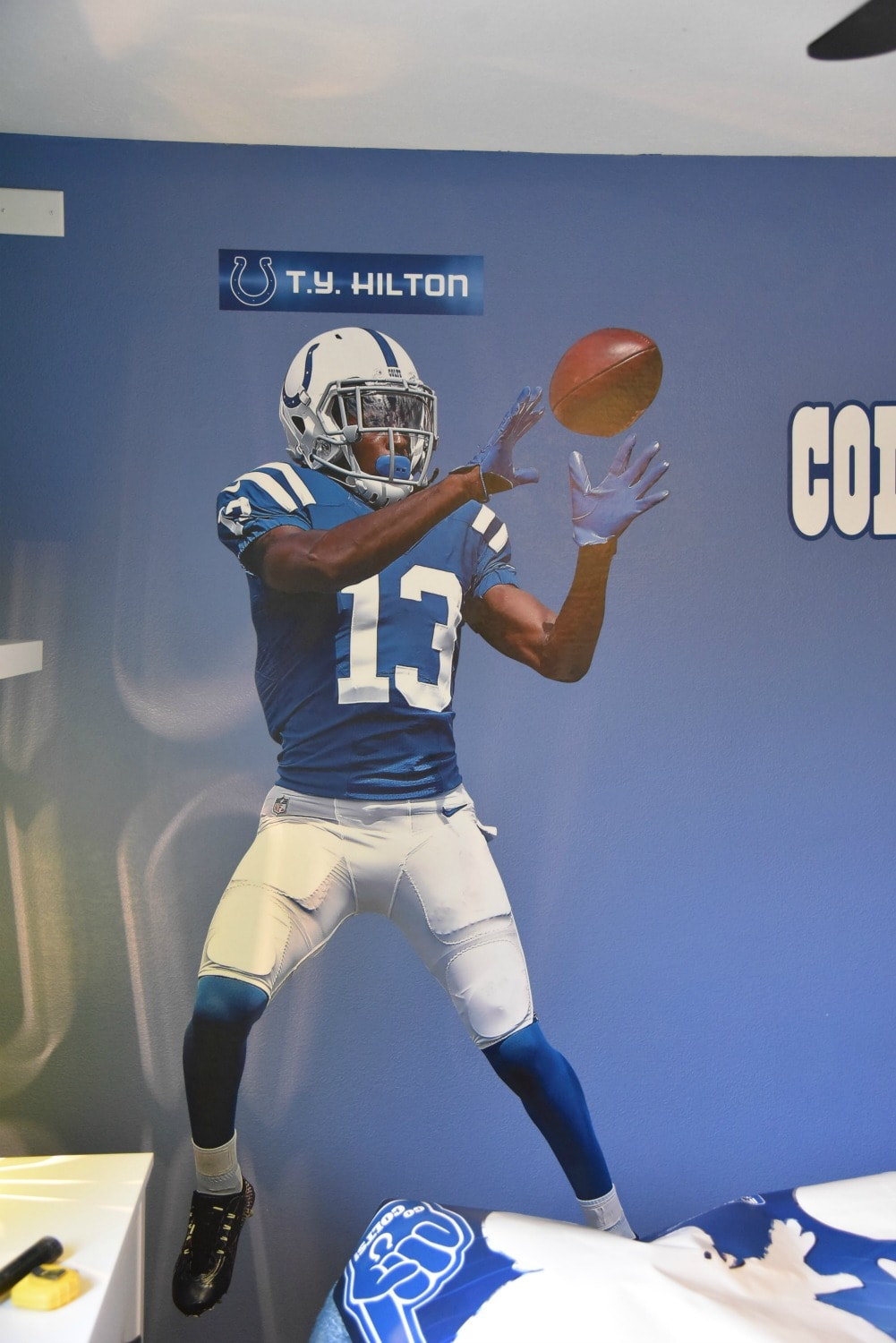 TY Hilton Decal
