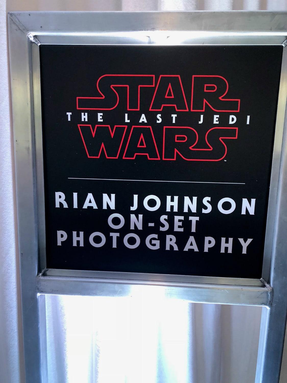 The Last Jedi on-set Photography