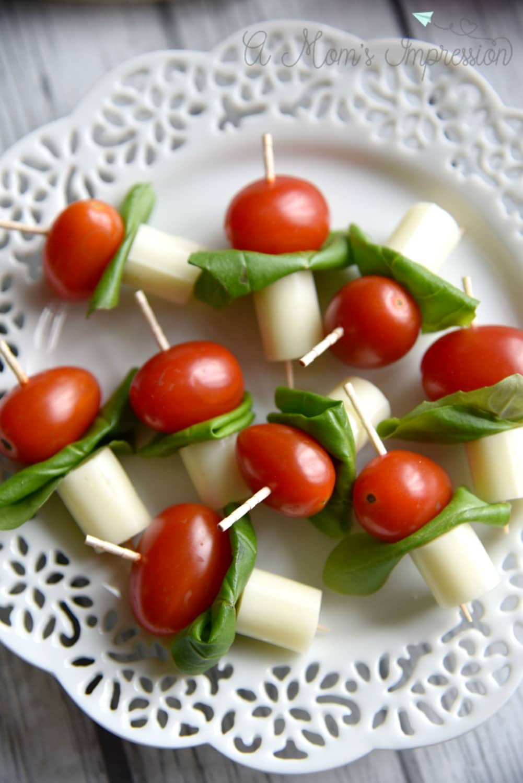 caprese salad appetizer skewers