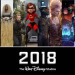 Upcoming Disney Movies for 2018 (Including Marvel Studios and Lucasfilm)