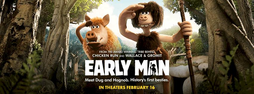 EarlyMan movie Banner