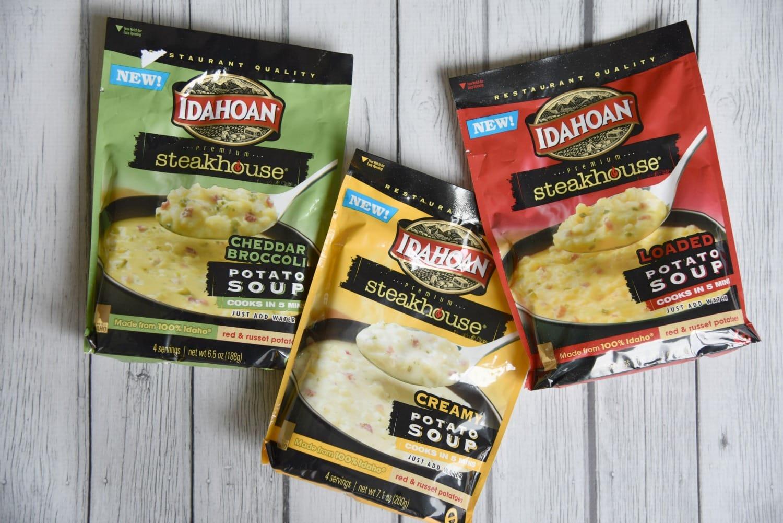 Idahoan 5 minute soups