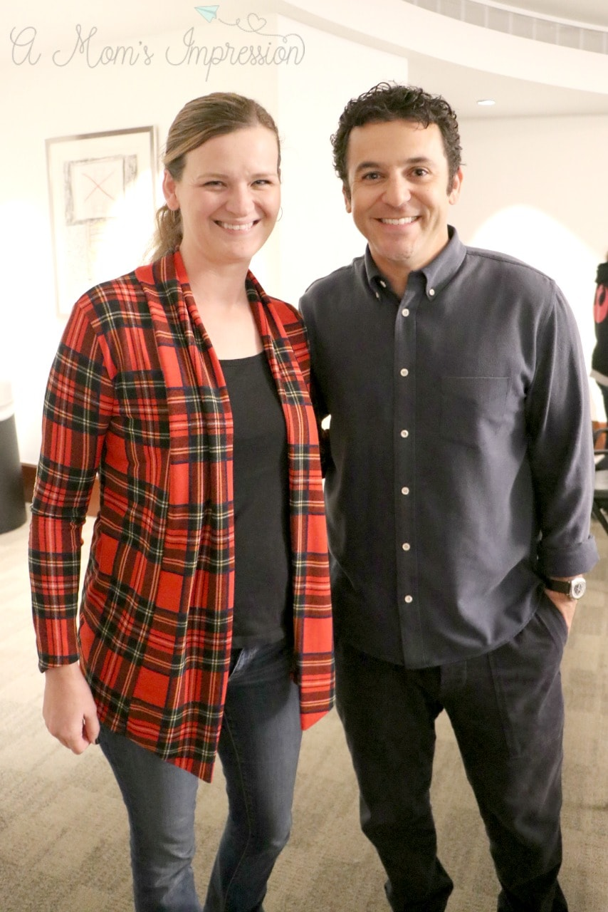 Fred Savage and I