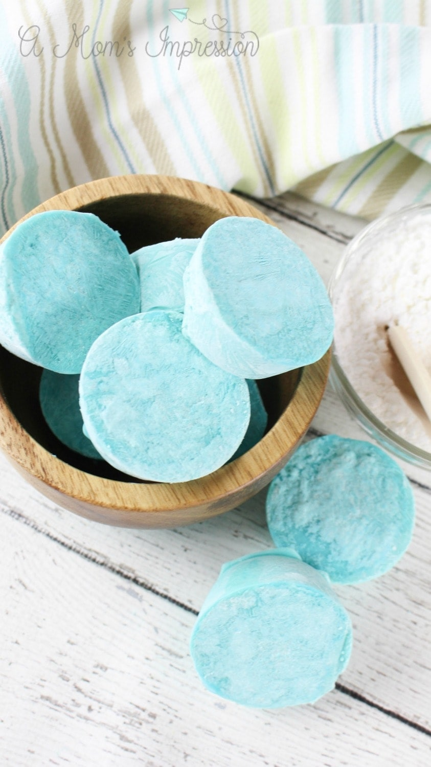 homemade vicks shower tablets