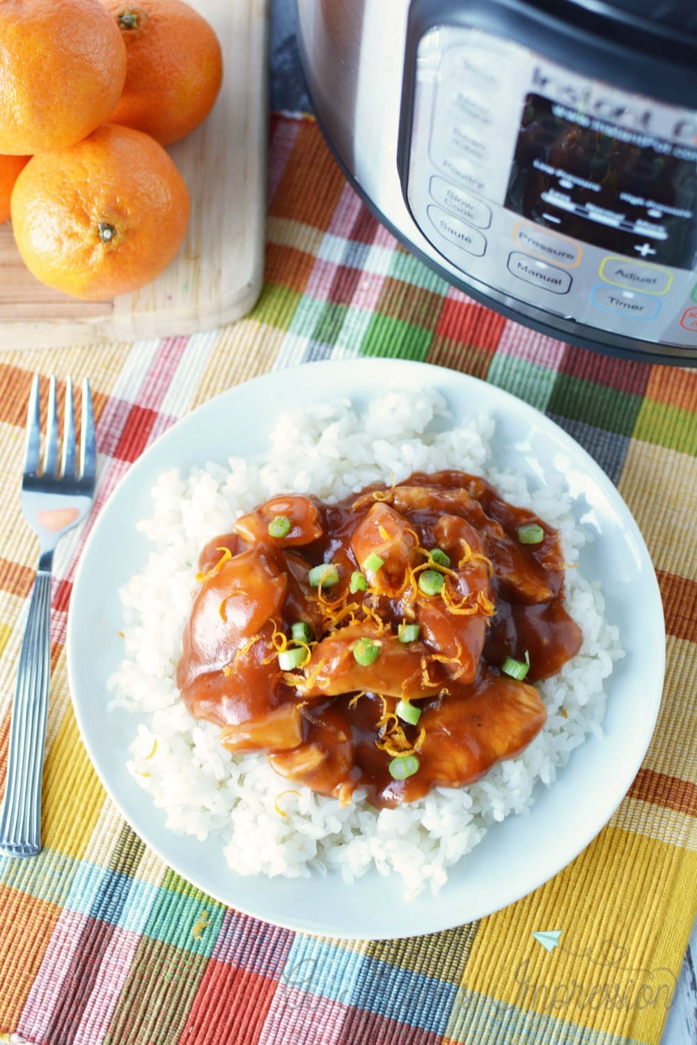 pressure cooker orange chicken