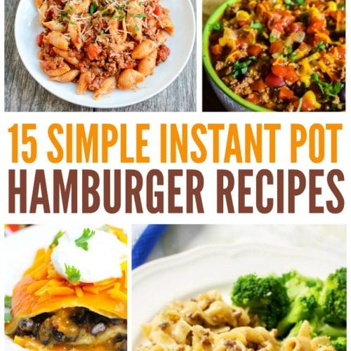 15 Simple Instant Pot Hamburger Recipes pin