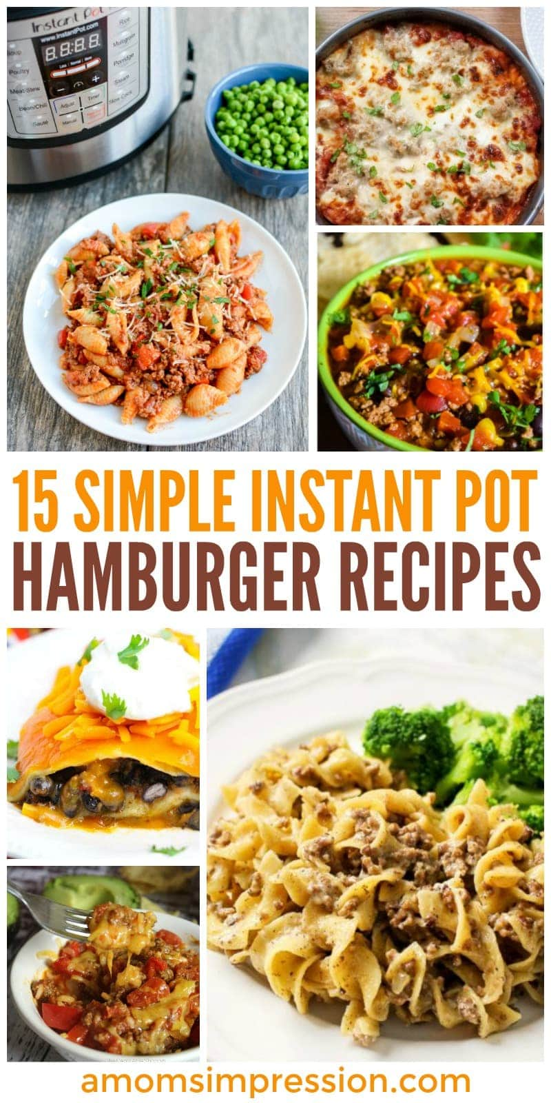 15 Simple Instant Pot Hamburger Recipes