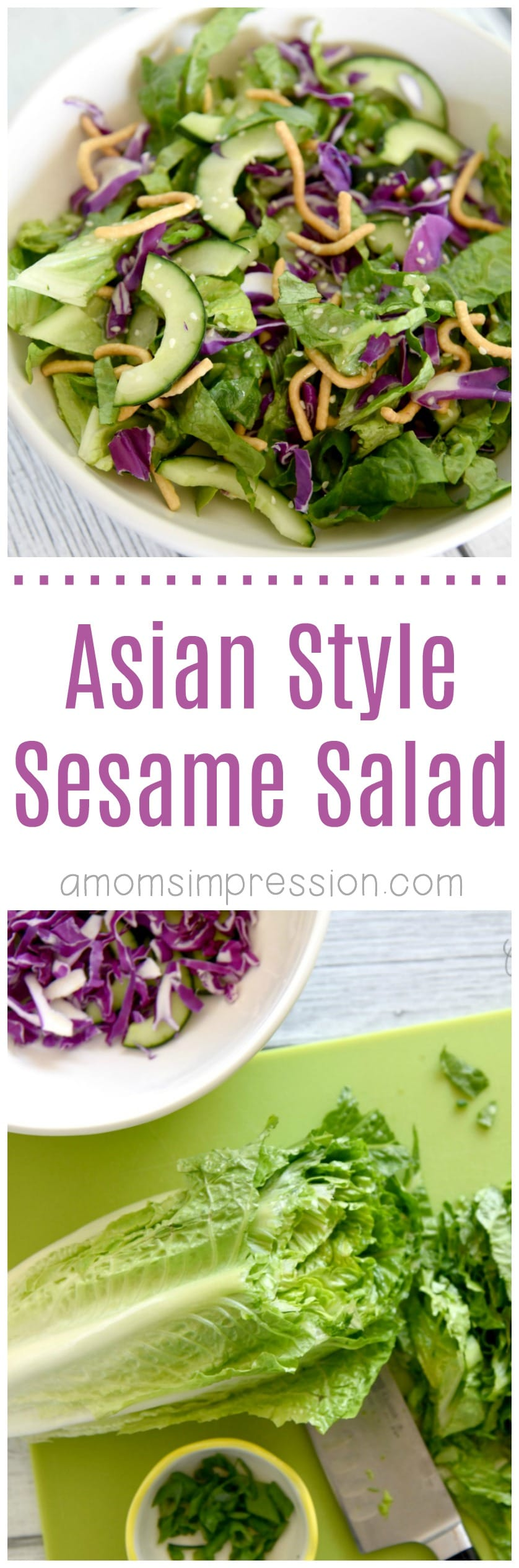 Asian Style Sesame Salad