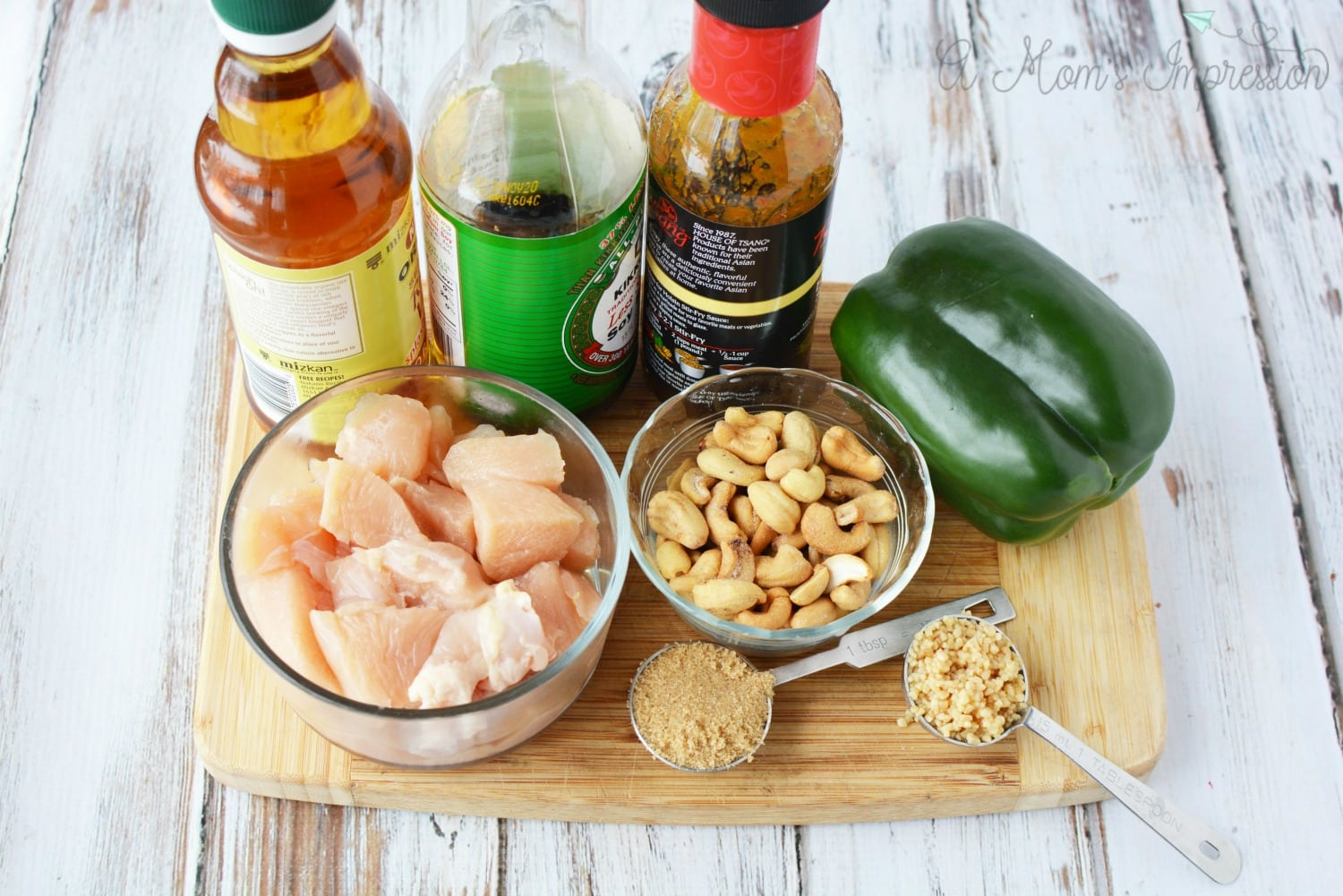 Cashew Chicken Ingredients