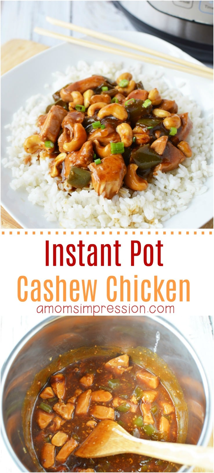 Instant Pot Cashew Chicken Pin