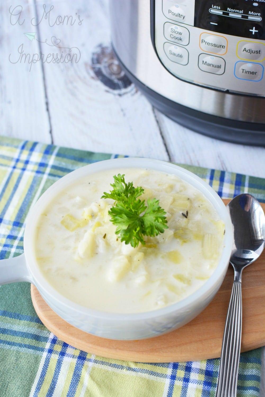 Irish Colcannon Soup recipe
