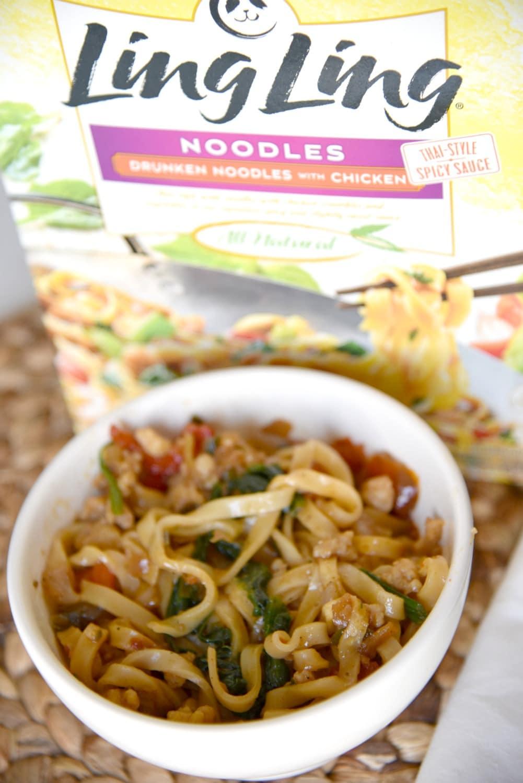 Ling Ling drunken noodles