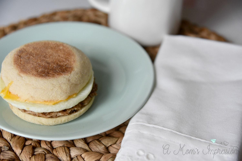 Tyson breakfast sandwich