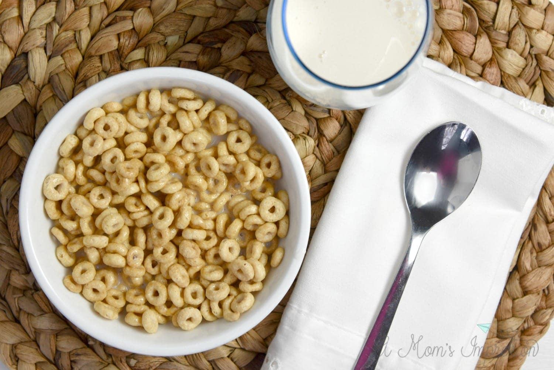 cheerios breakfast