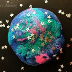 homemade galaxy playdough