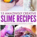 15 Amazingly Creative Slime Recipes