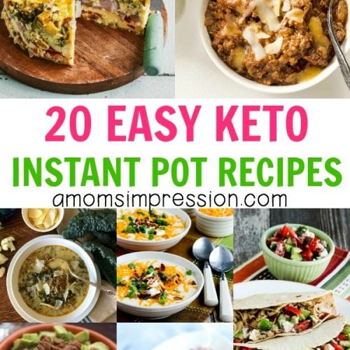 20 EASY KETO INSTANT POT RECIPES