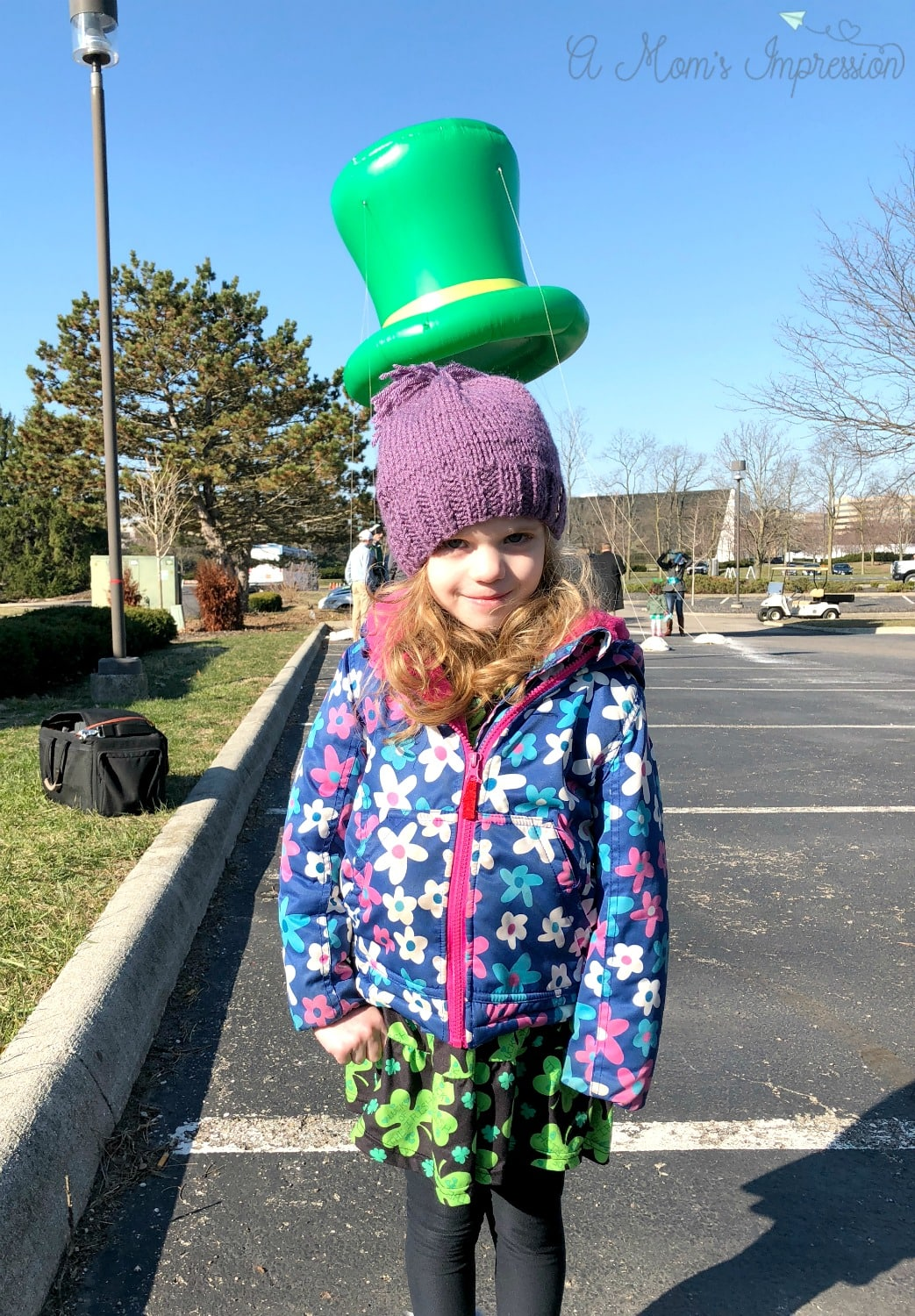 Giant irish hat