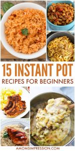 15 Easy Instant Pot Recipes for Beginners