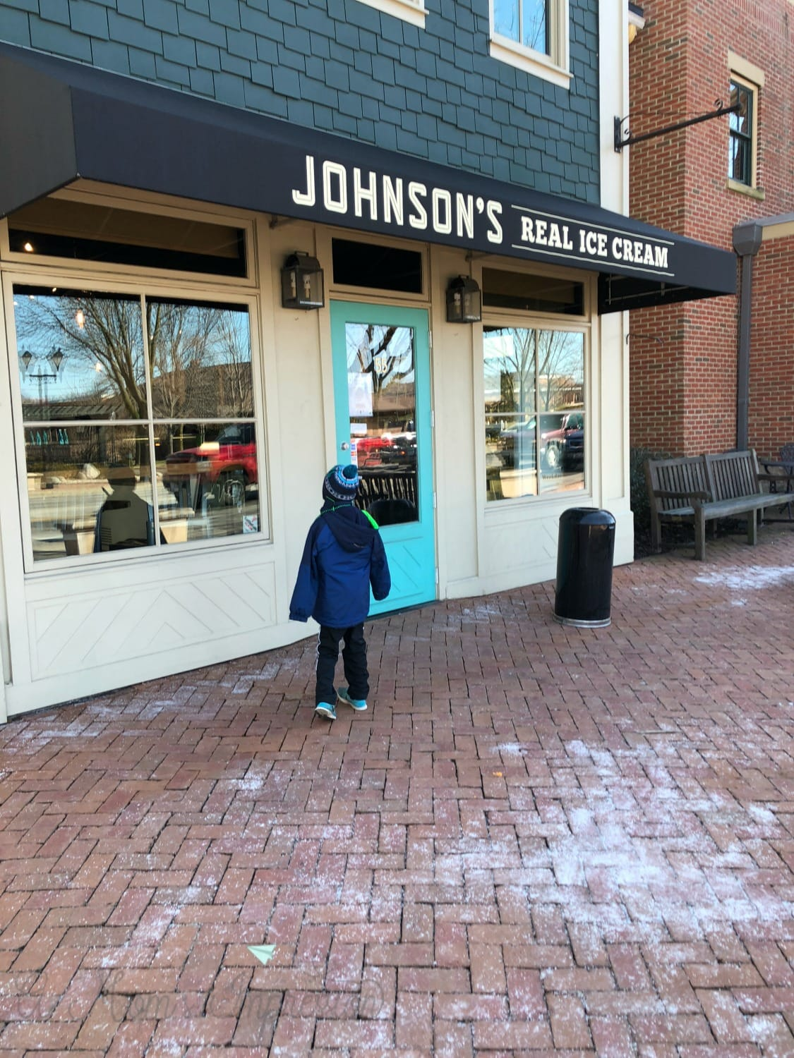 Johnsons ice cream shop