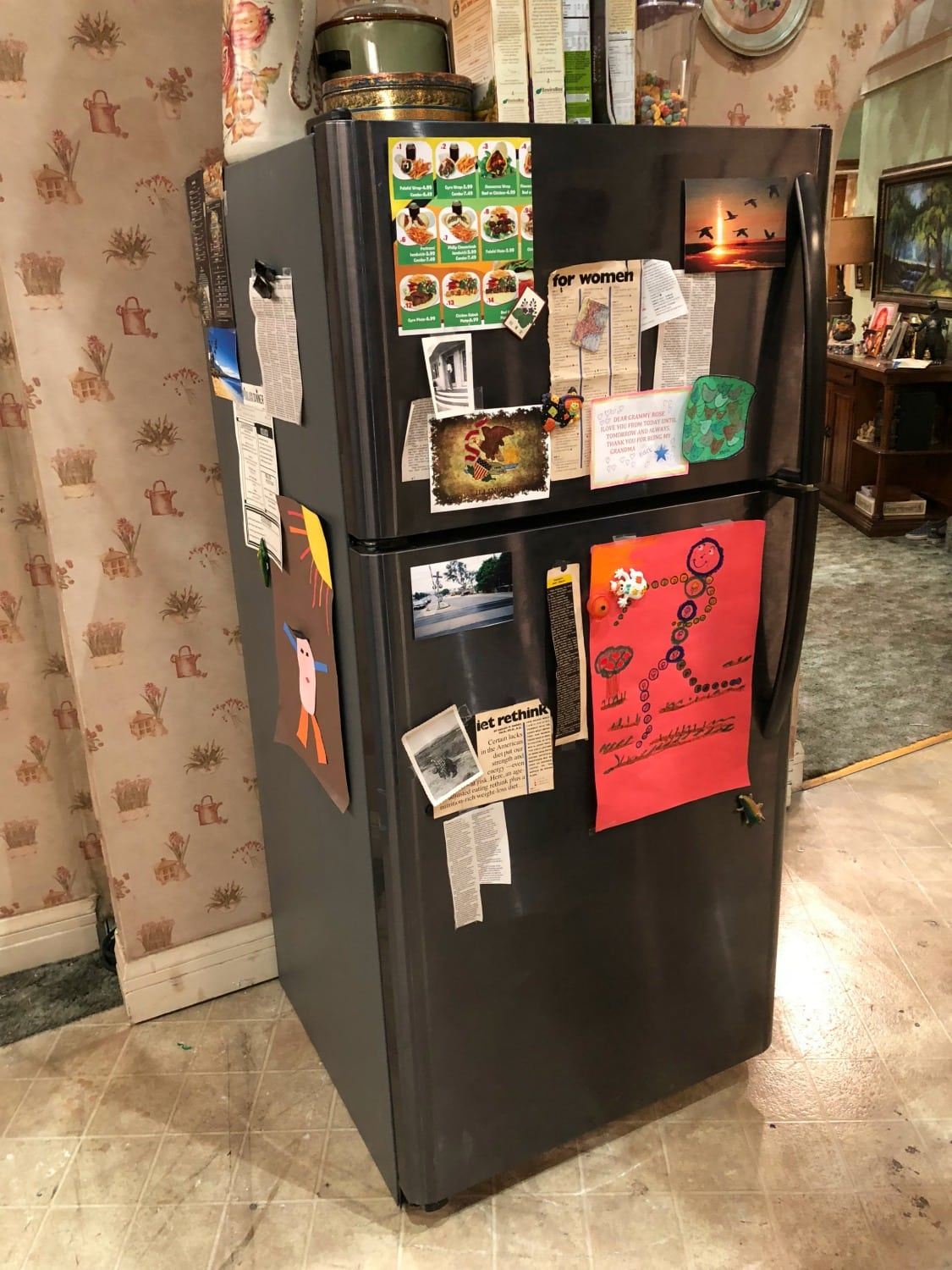 Roseanne Set 2018 Fridge