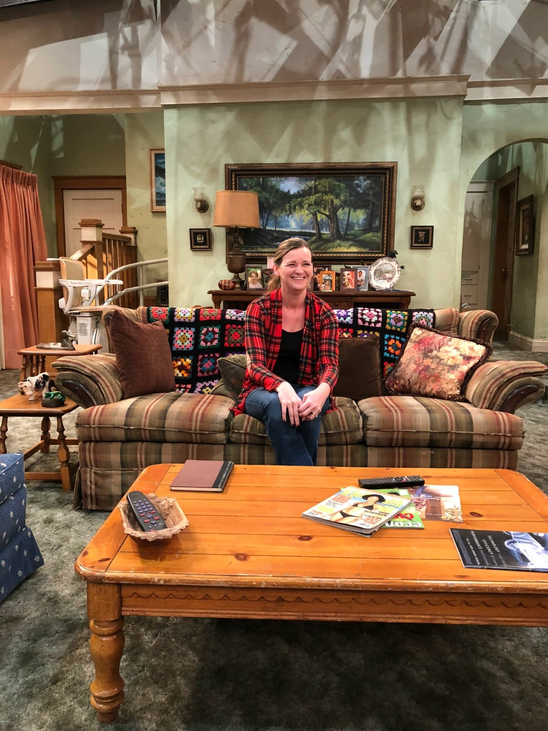 Roseanne Set 2018 Iconic Couch