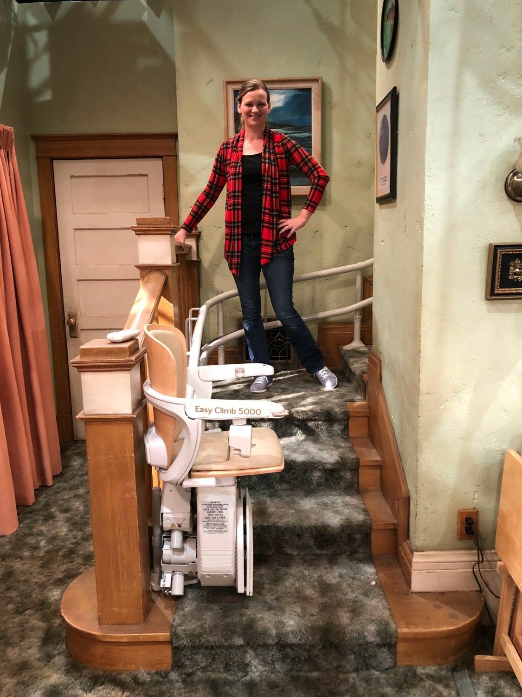 Roseanne 2018 Set Stairs
