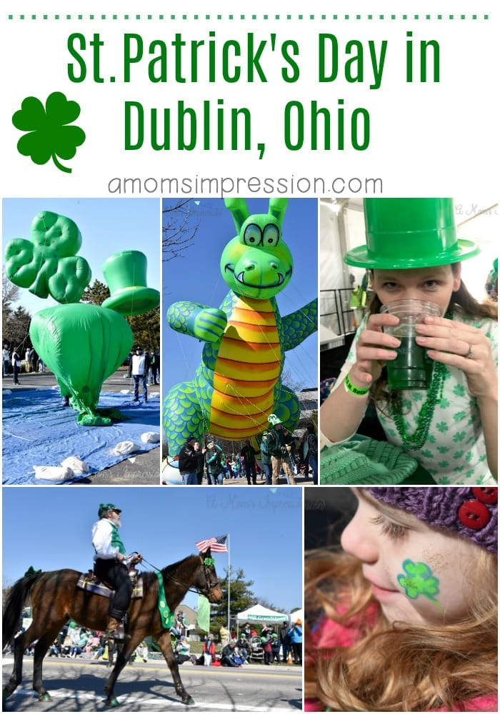 St patricks day in dublin ohio