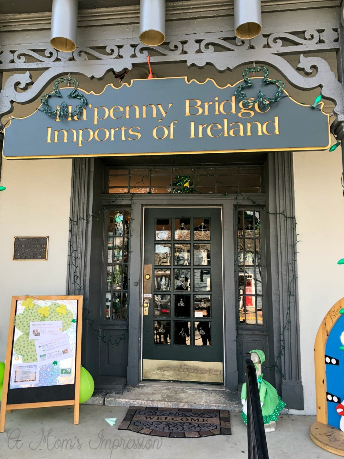 ha'penny bridge imports of ireland