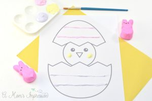 How to Make Puffy Paint with Peeps Candy