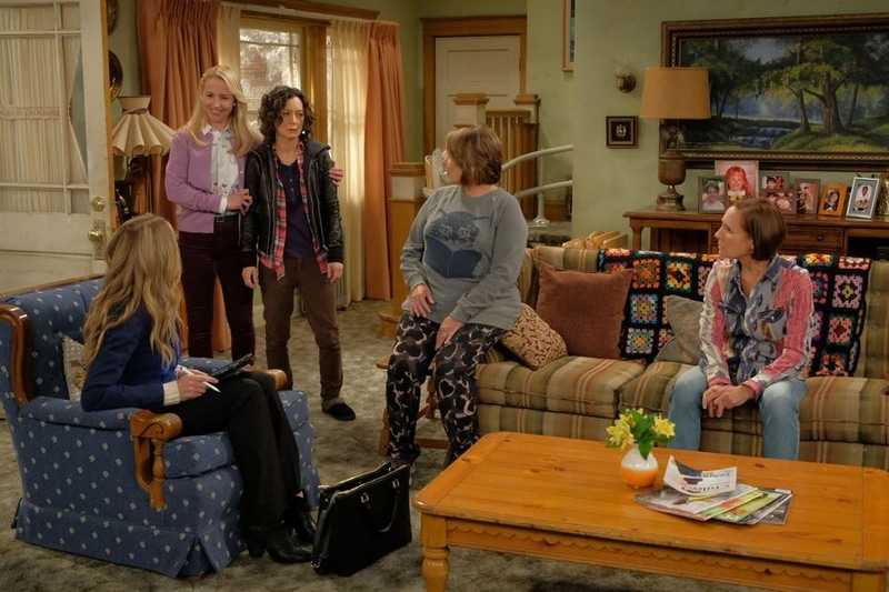 roseanne cast 2018 on set