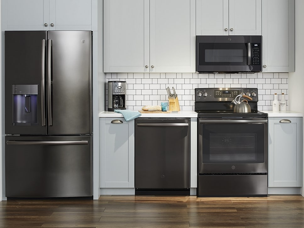 Black Stainless Steel Appliances