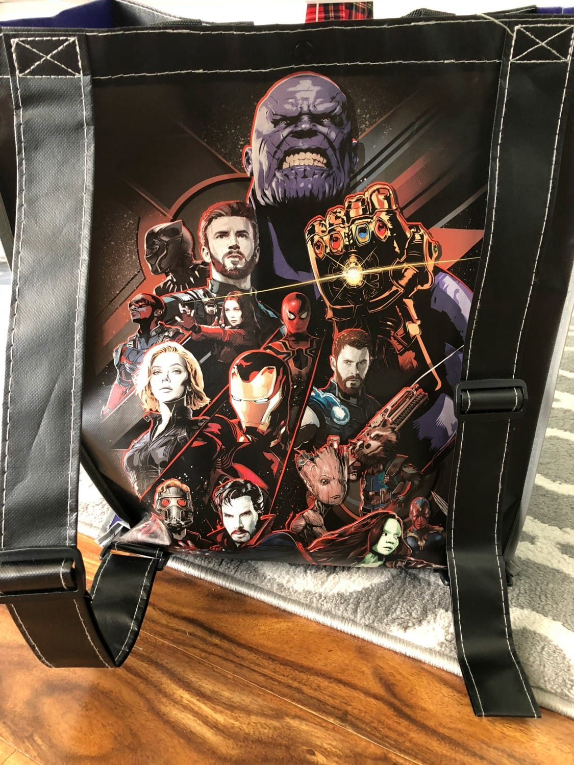 Infinity War Backpack tote